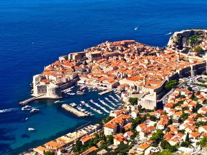 Our best shot of Dubrovnik between the two of us! Trying to get that ONE shot that you see on all the brochures!