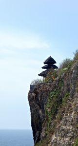 The back side of Pura Ulawatu