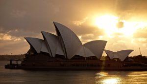 Sunrise in Sydney!