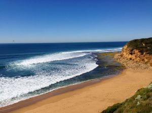One of the first views along the Great Ocean Road.