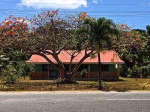 Typical home in Aitutaki.