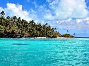 "One of the 4 ""Survivor Islands"""