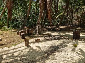 I'm sure the tribal council meeting was held here.