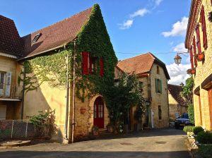 Our beautiful village.  St.-Leon-sur-Vezere, France