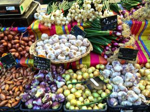How about fresh produce? There is plenty to go around in Sarlat market.