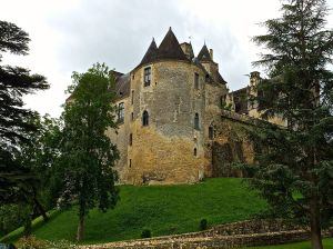 This is a privately owned Chateau (Castle) we ran across in Dordogne.