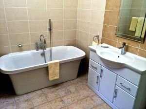 Photo of master bath.