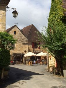 This is a photo of our delicatessen. It is just one of 4 restaurants in St. Leon sur Vezere.