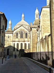 Perigeaux's Cathedral Saint-Front. Byzantine architecture.