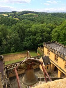 The Dordogne countryside from the top of Chateau Puymartin.