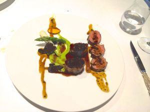 Lamb with truffles