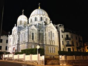 Eglise Alexandre Newsky - Russian Orthoodox Church in Biarritz.