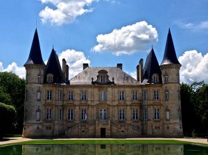 The other Pichon Longueville Chateau...on the opposite side of the street.
