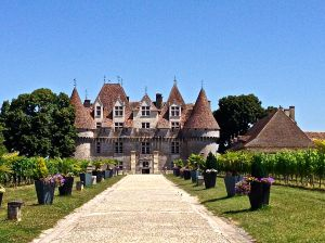 We discovered Chateau Monbazillac.  Cool place!