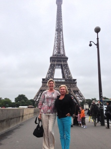 Mary and Rita.. fun times in Paris!
