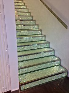Swarovski Crystal staircase... only in Paris...