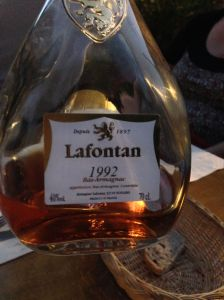 Dessert???                Armagnac Anyone?