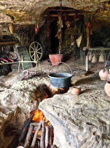 This is a medieval kitchen for sure!