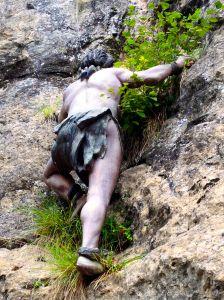 Apparently, Rock Climbing isn't a new sport!