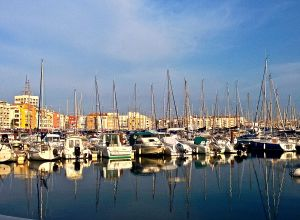 Another little harbour along our way to Italy.