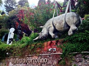 This is the symbol of Portofino.... we've searched quite a while, but cannot find out why?