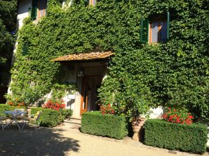 Hotel Villa La Barone in Panzano where we spent our first night in Chianti locked in the Tower Room!