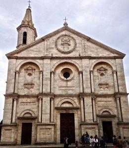 Church Pope Pius II built.