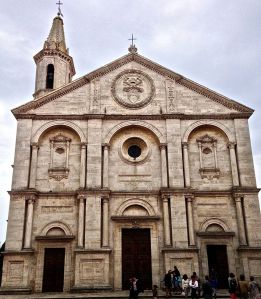 Church Pope Pius II built.