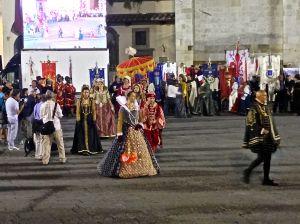 Midieval costumes.