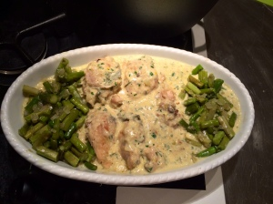 Lemon Chicken Fricasse ! Wonderful!