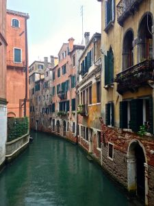 "Love these ""roads"" here in Venice!"