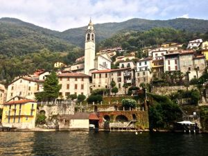 Bellagio, a very quaint village on Lake Como.