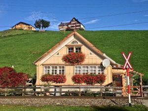Train station in Appenzell.